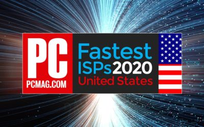 PCMag named Hotwire Communications Fastest Business ISP of 2020, Fastest ISP in Southeast United States