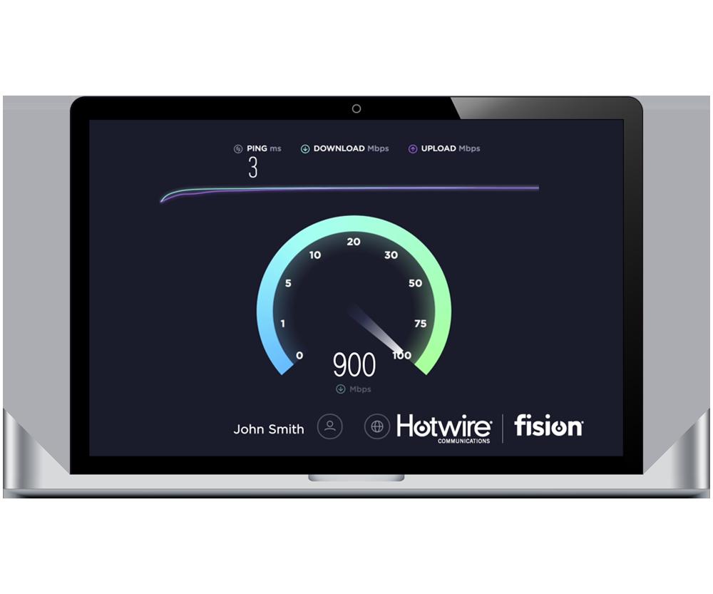 Fision Work Speed Test