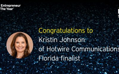 EY Announces Kristin Johnson of Hotwire Communications as an Entrepreneur Of The Year® 2021 Florida Award Finalist